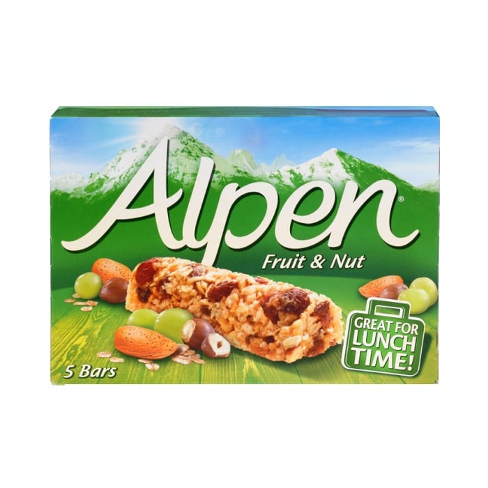Alpen Cereal Bar Fruit & Nut