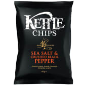 Kettle Chips Sea Salt & Crushed Black Pepper