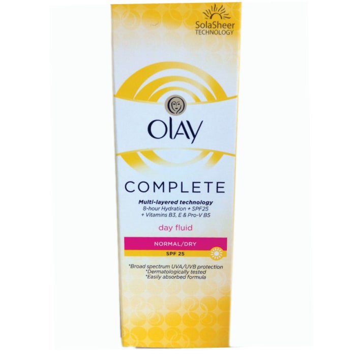 Olay complete day fluid SPF 25 normal/dry