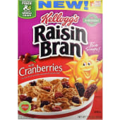 Kelloggs Cereal Raisin Bran With Cranberries