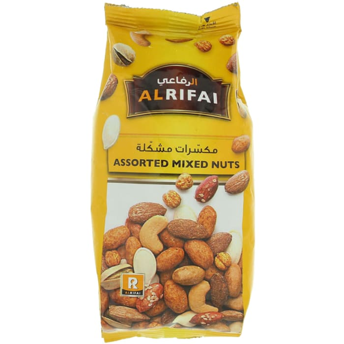 Al Rifai Assorted Mixed Nuts Pouch 200g