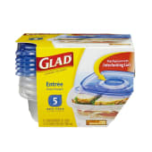 Glad ware Containers & Lids Entree