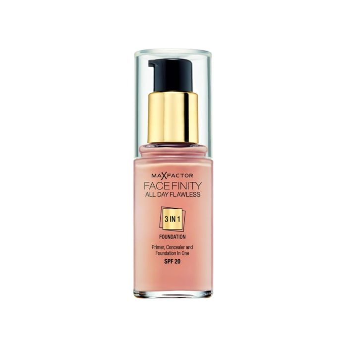 Max Factor Face Finity 3 In 1 Foundation Natural 50