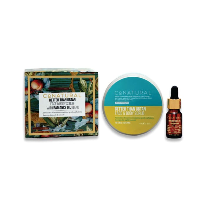 Conatural Better than Ubtan Scrub with Radiance Oil