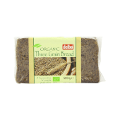 Delba Organic Three Grain Bread 500g