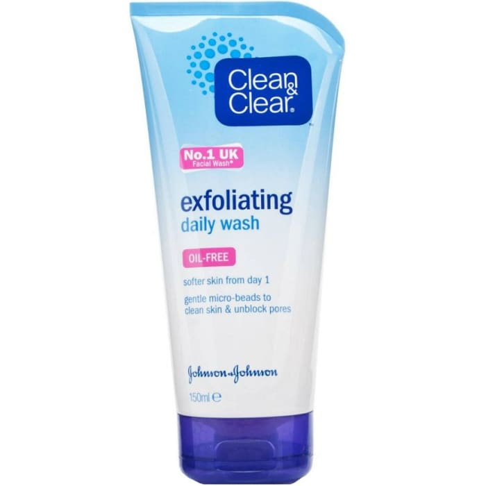 Clean & Clear Exfoliating Cleansing Daily Wash