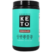Perfect Keto Chocolate Protein Powder Low Carb Keto Drink Supplement 343 Grams