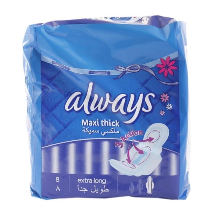 Always Women Care Maxi Thick Extra Long
