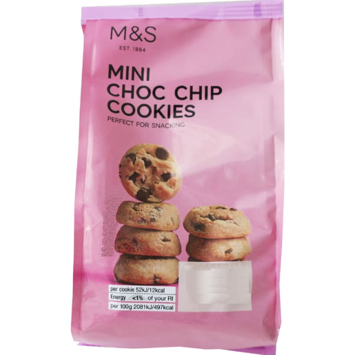 Marks and Spencer Mini Choc Chip Cookies