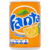 Fanta Orange Mini Can