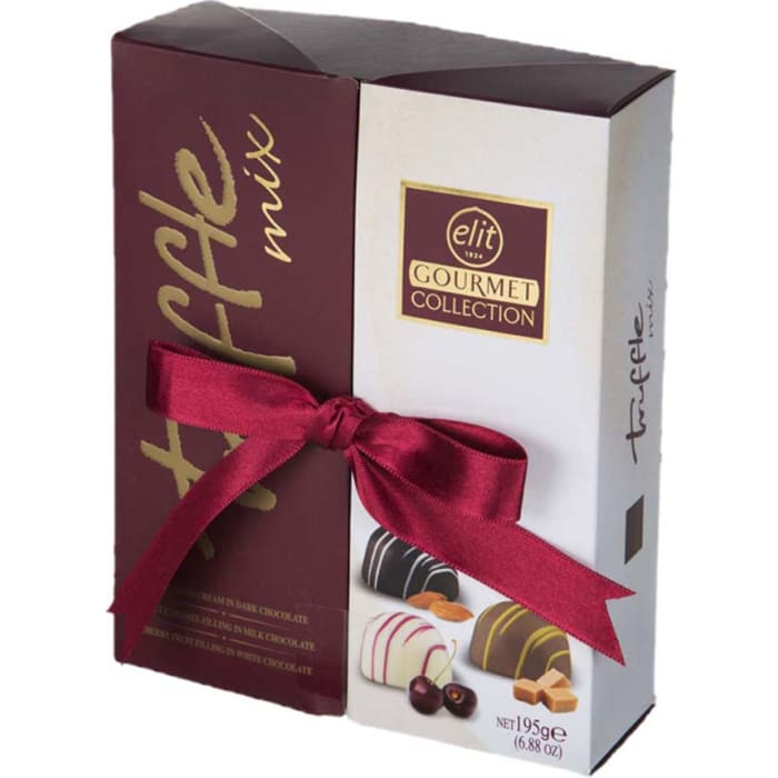 Elit Chocolate Gift Box Gourmet Collection Truffle Mix 195g