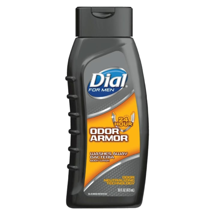 Dial Odor Armor For Men Antibacterial Body Wash