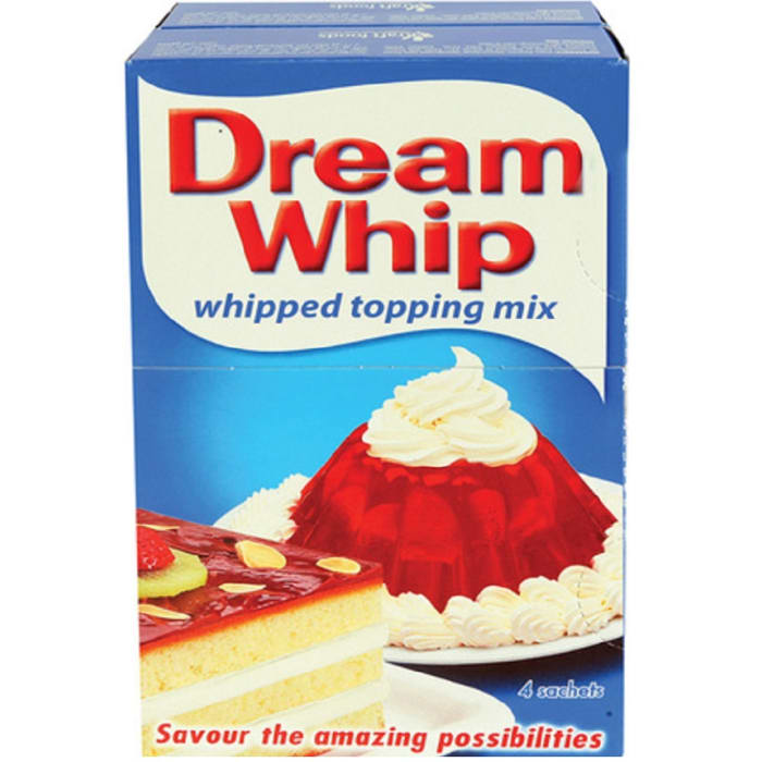 Dream Whip Vanilla Cream