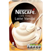 Nescafe Latte Vanilla Coffee