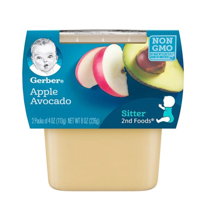 Gerber 2nd Foods Apple Avocado 266g