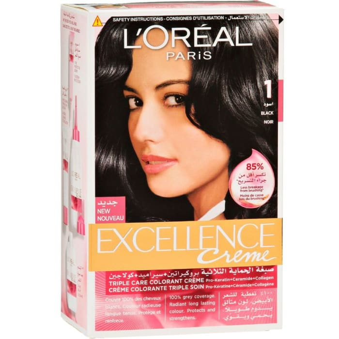 Loreal  Hair Colour Noir No1