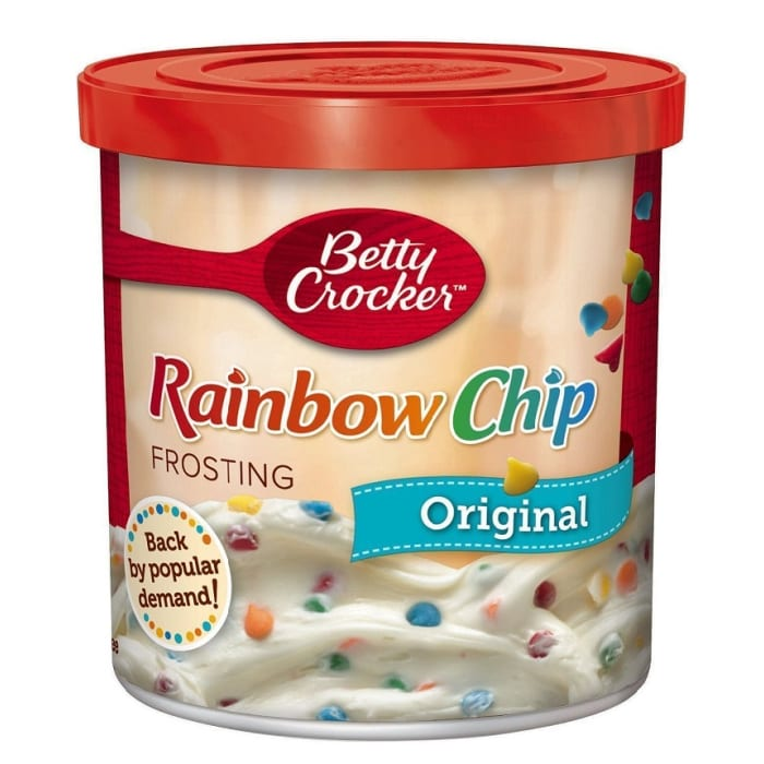 Betty Crocker Frosting Rich & Creamy Rainbow Chip