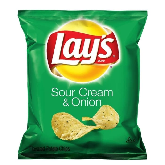 Lays Sour Cream & Onion Potato Chips
