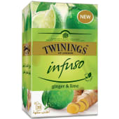 Twinings Infuso Ginger Lime Tea 30g