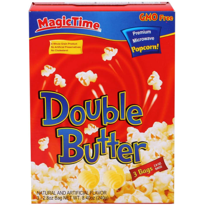Magic Time Double Butter Popcorn