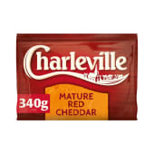 Charleville Mature Red Cheddar 340g