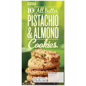 Marks & Spencer All Butter Pistachio & Almond Cookies