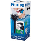 Philips AT600 AquaTouch Wet and Dry Electric Men Rechargeable Travel Shaver