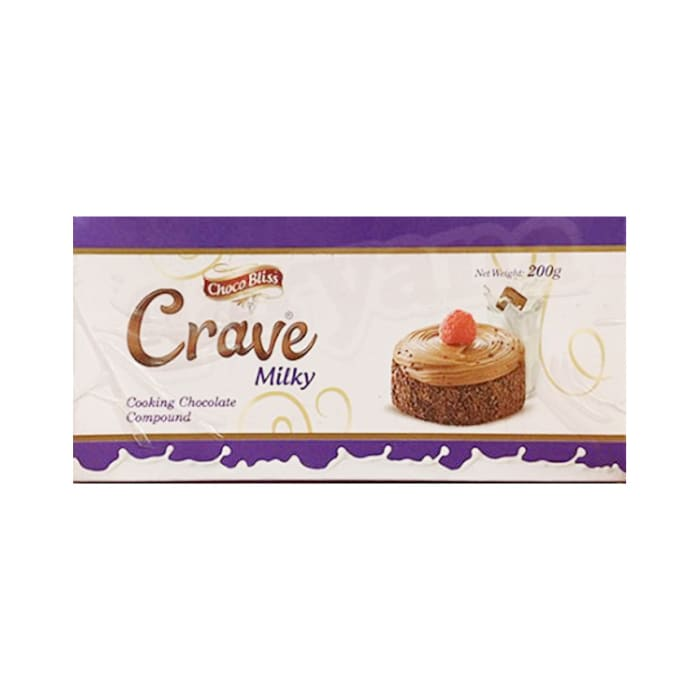 Choco Bliss Crave Milky Cooking Chocolate 200g