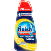 Finish All In One Max Dishwasher Gel Lemon Degreaser 700ml