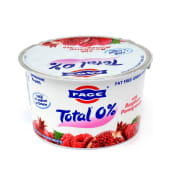 Fage 0% Greek Yogurt With With Raspberry & Pomegranate