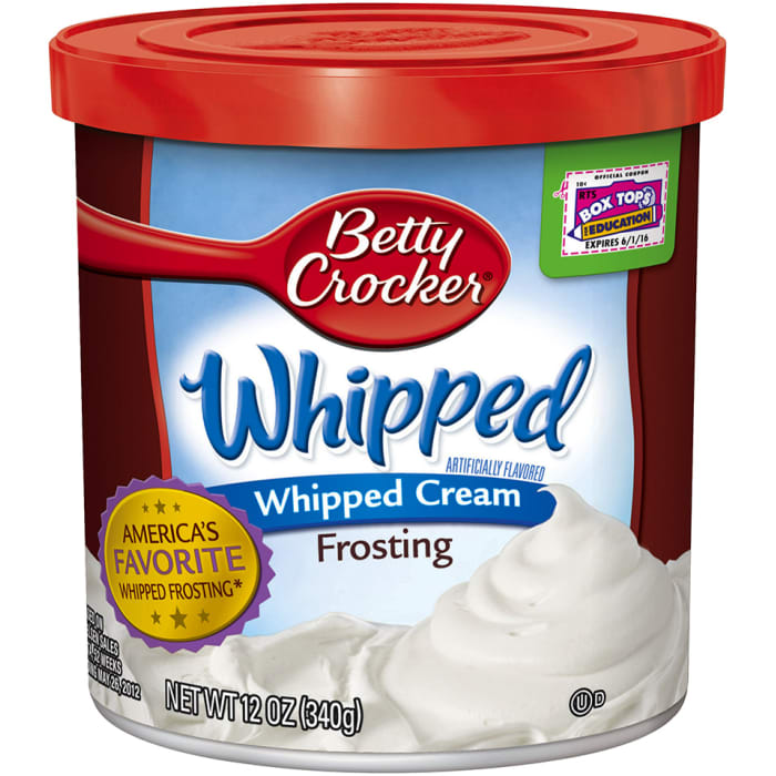Betty Crocker  Frosting Whipped Cream