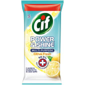 Cif Power & Shine Antibacterial Multipurpose Wipes