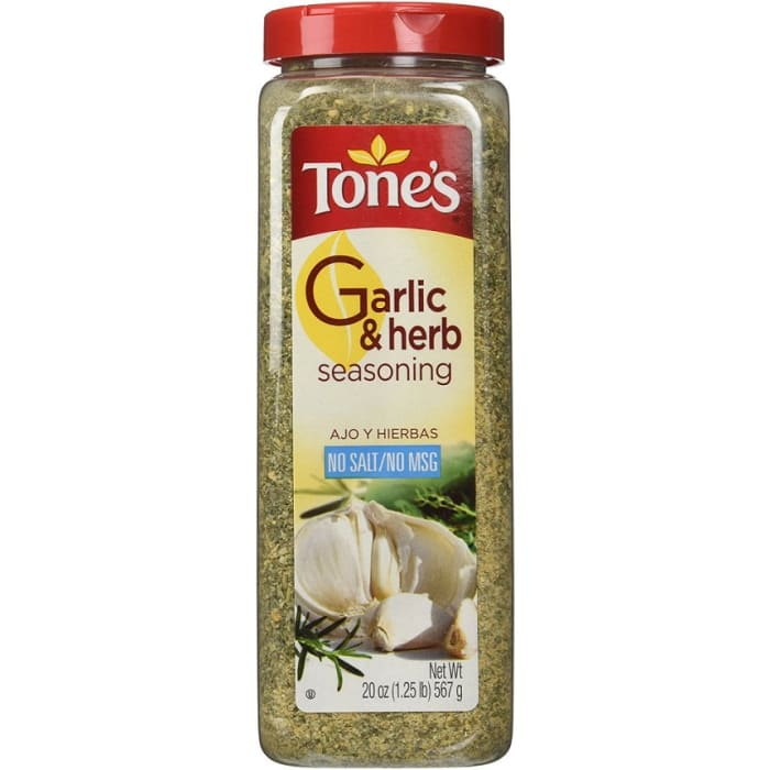 Tones Garlic & Herb Seasoning
