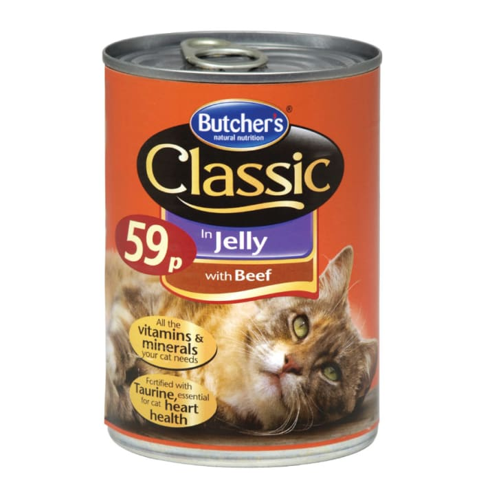 Butchers Cat Food Classic With Chicken in Jelly