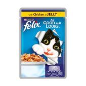 Felix Pouch As Good As It Looks Chicken In Jelly 100 Grams