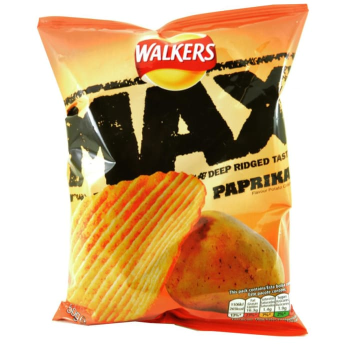 Walkers Max Paprika  Chips