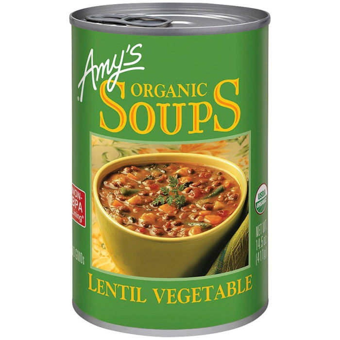Amy's Organic Soup Lentil Vegetable 400g