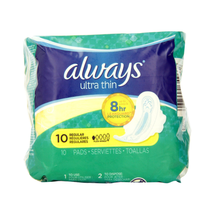 Always Ultra Thin Regular Flexi-Wings Lady Pads