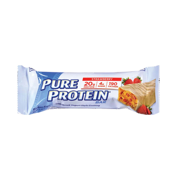 Pure Protein Bar Strawberry With Greek Yogurt Style Coating