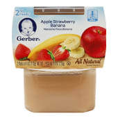 Gerber 2nd  Apple Strawberry Banana Baby Food