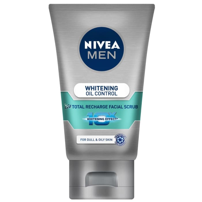 Nivea  Whitening Oil Control Total Recharge Facial Scrub