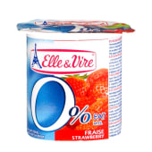 Elle & Vire Strawberry Light Fruit Yogurt