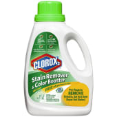 Clorox Stain Remover Color Booster Free & Clear Detergents