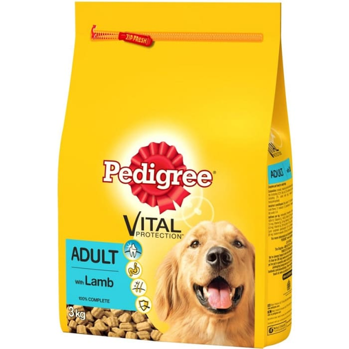 Pedigree Dog Food Lamb & Vegetable Adult
