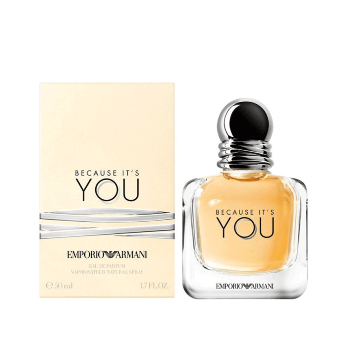 Giorgio Armani Because Its You Eau De Parfum Spray For Women 50ml