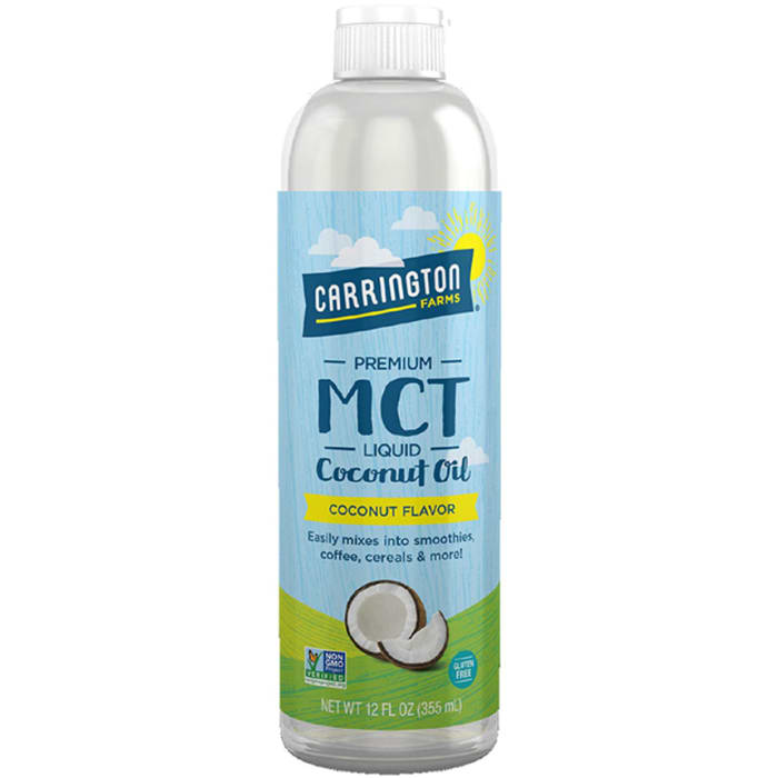 Carrington Farms MCT Liquid Coconut Cooking Oil