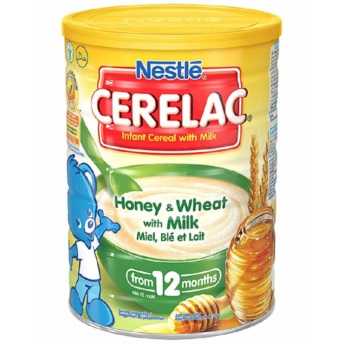 Nestle Cerelac, Honey and Wheat with Milk 1000 Grams