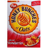 Post Honey Bunches of Oats with Real Strawberries Cereal