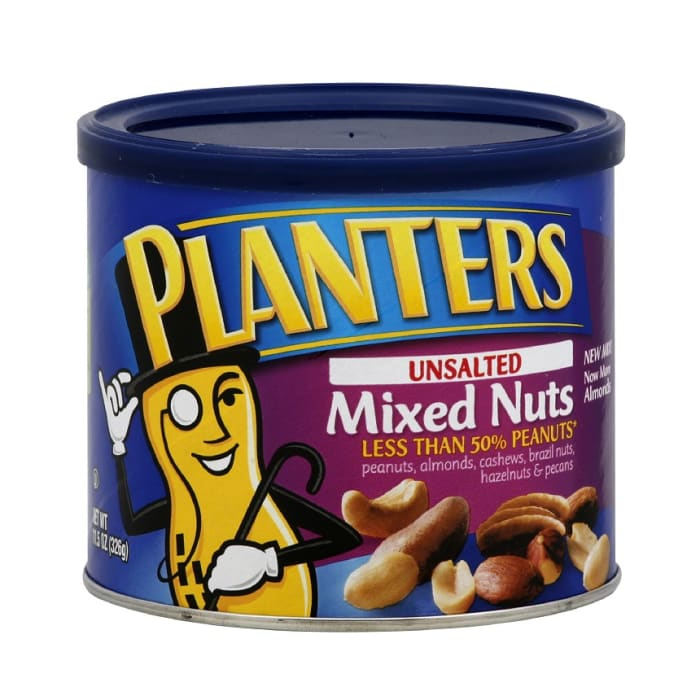 Planters Mixed Nuts Unsalted