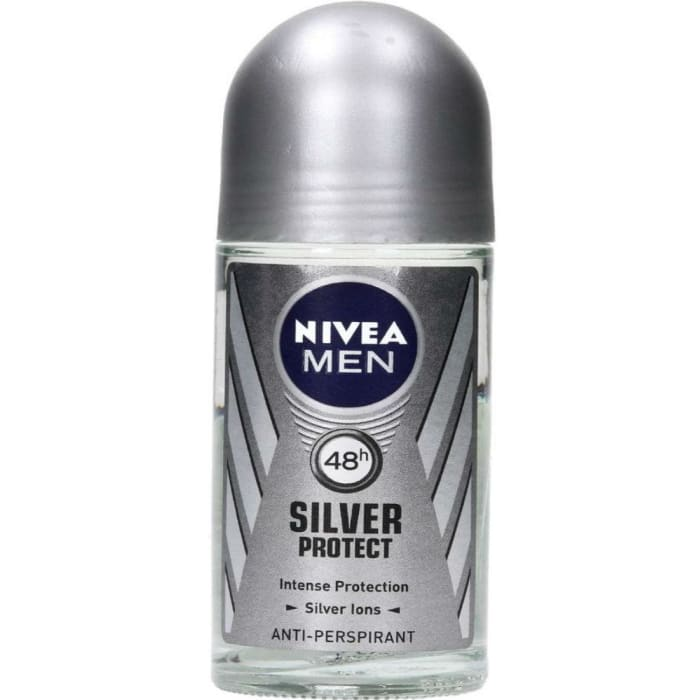 Nivea Deodorant Roll On Men Silver Protect